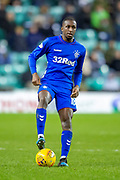 Glen Kamara (#18) of Rangers FC during the Ladbrokes Scottish Premiership match between Hibernian and Rangers at Easter Road, Edinburgh, Scotland on 8 March 2019.