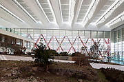 The new Museum of Human Evolution by Spanish architect Juan Navarro Baldeweg is located in the castilian ancient city of Burgos, part of the Atapuerca complex of prehistoric sites, caves and exhibitions exploring the evolution of human kind from prehistory.