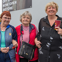 Noelle Gleeson, Mary Dooley and Martina Whelan from Turnpike at the official opening of Gerraty's Spar