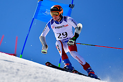 PFYL Thomas, LW9-2, SUI, Giant Slalom at the WPAS_2019 Alpine Skiing World Cup, La Molina, Spain