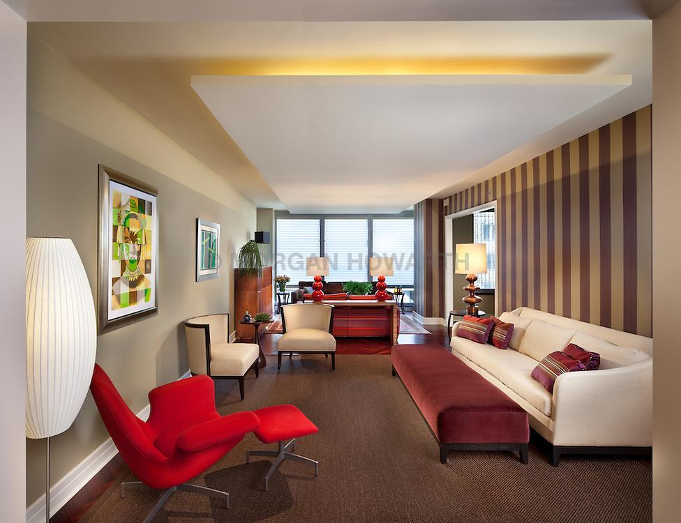 1155 23rd St NW Washington, DC Designer Margaret Carter living room