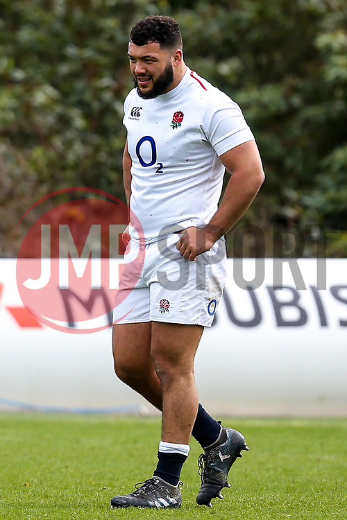 Ellis Genge of England - Mandatory by-line: Robbie Stephenson/JMP - 08/03/2019 - RUGBY - England - Training session ahead of Guinness Six Nations match against Italy