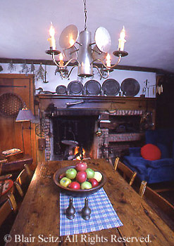 Real estate, historic house,early American hearth