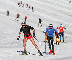 09.10.2014, Dachstein Gletscher, Ramsau, AUT, FIS Weltcup Langlauf, Langlauftraining am Dachstein, im Bild Justyna Kowalczyk // during Training for upcoming FIS Cross Country Season at the Dachstein Gletscher in Ramsau, Austria on 2014/10/09. EXPA Pictures © 2014, PhotoCredit: EXPA/ Martin Huber