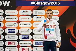 LISENKOV Konstantin RUS at 2015 IPC Swimming World Championships -  Men's 100m Freestyle S8