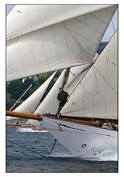 Altair 1931 Schooner..* The Fife Yachts are one of the world's most prestigious group of Classic  yachts and this will be the third private regatta following the success of the 98,  and 03 events.  ..Marc Turner / PFM Pictures