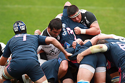 A general view of the scrum. Stade Toulousain v Stade Francais, 9eme Journee, Top 14, Rugby, Stade Ernest Wallon, Toulouse, France, 29th October 2011.