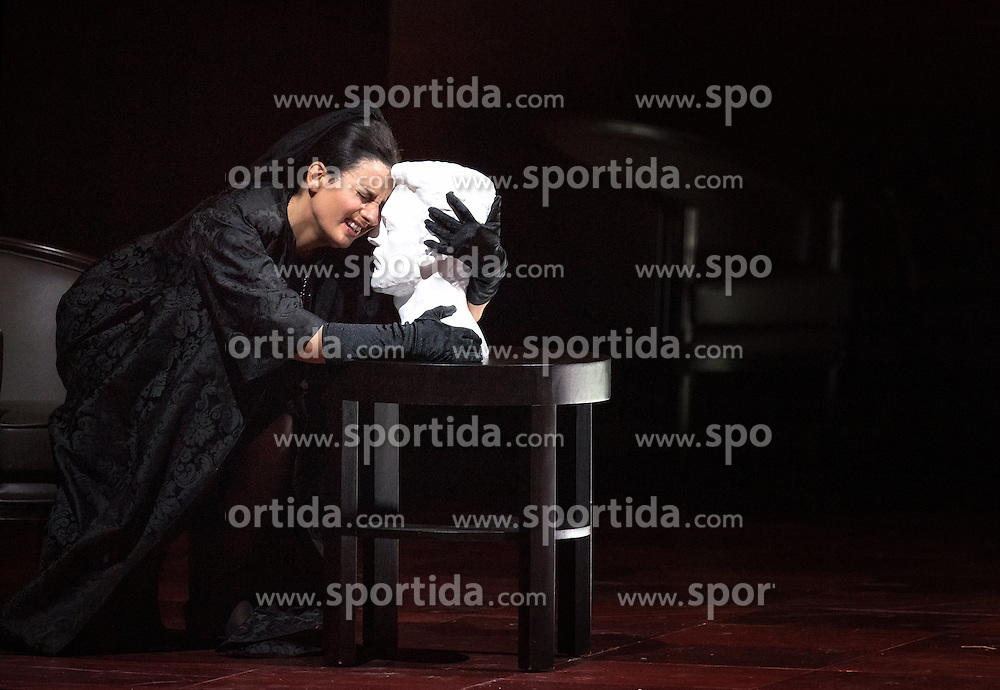 29.07.2016, Haus für Mozart, Salzburg, AUT, Salzburger Festspiele, Don Giovanni, im Bild Carmela Remigio als Donna Anna während der Fotoprobe zu Wolfgang Amadeus Mozarts Oper - Don Giovanni // Carmela Remigio als Donna Anna perform during the rehearsal of Wolfgang Amadeus Mozarts Don Giovanni'. The Salzburg festival takes place from 22 July to 31 August 2016, at the Haus für Mozart in Salzburg, Austria on 2016/07/29. EXPA Pictures © 2016, PhotoCredit: EXPA/ Ernst Wukits