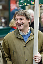 © Licensed to London News Pictures. 26/12/2014. Charlie Brooks, husband of Rebekah Brooks. Heythrop Hunt on Boxing Day in Chipping Norton Oxfordshire. Photo credit : MARK HEMSWORTH/LNP