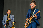 St Paul and the Broken Bones play the Other Stage - The 2016 Glastonbury Festival, Worthy Farm, Glastonbury.