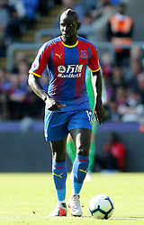 Crystal Palace's Mamadou Sakho during the Premier League match at Selhurst Park, London
