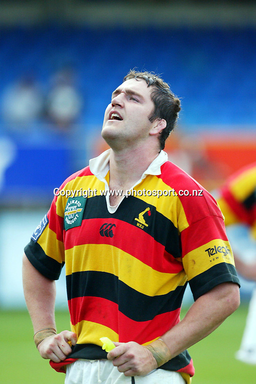 6th September, 2003. Eden Park, Auckland, New Zealand. NPC Division One. Auckland v Waikato.<br />