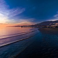 Sunset in Stanley Park, British Columbia, Canada