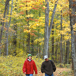 Exploring the oak-hickory forests in Connecticut's Litchfield Hills.  Kent School property currently part of a TPL project.  Kent, CT