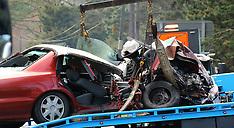 Auckland-Three car serious crash, SH1, Puhoi