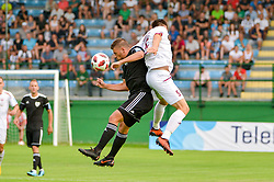 Amadej Marosa of NS Mura during football match between NS Mura and NK Triglav Kranj in 1st Round of Prva liga Telekom Slovenije 2018/19, on July 21, 2018 in Mestni stadion Fazanerija, Murska Sobota , Slovenia. Photo by Mario Horvat / Sportida