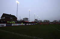 Photo: Rich Eaton.<br /> <br /> Tamworth FC v Norwich City. The FA Cup. 06/01/2007. The  teams play out the game under the floodlights at the Lamb