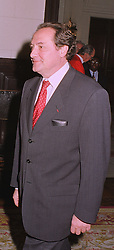 The French Ambassador MON.DANIEL BERNARD, at a reception in London on 12th October 1998.MKS 10