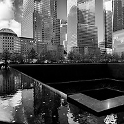 9/11 Memorial. New York City.