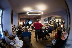 Press conference and presentation of Swiss company Stadler Form, on October 24, 2017 in Cokoladni Atelje Dobnik, Ljubljana, Slovenia. (Photo by Vid Ponikvar / Sportida)
