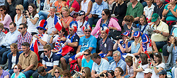 Supporter, FRA - Team & Individual Competition Jumping Speed - Alltech FEI World Equestrian Games™ 2014 - Normandy, France.<br /> © Hippo Foto Team - Leanjo De Koster<br /> 02-09-14