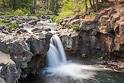 Images from the lower and middle waterfalls on the McCloud River in Northern California.