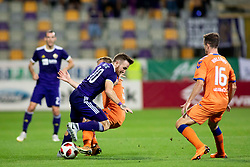 Dino Hotic of NK Maribor during 2nd Leg football match between NK Maribor and Rangers FC in 3rd Qualifying Round of UEFA Europa League 2018/19, on August 16, 2018 in Stadion Ljudski vrt, Maribor, Slovenia. Photo by Urban Urbanc / Sportida