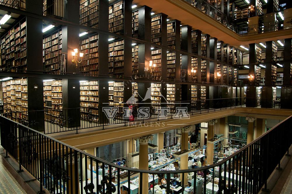 Biblioteca Nacional, Rio de Janeiro, Brasil, foto de Ze Paiva, Vista Imagens.