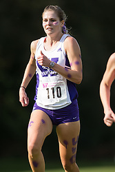 Jessica White of the Western Mustangs  competes in the women's 5k  at the 2015 Western International Cross country meet in London Ontario, Saturday,  September 26, 2015.<br /> Mundo Sport Images/ Geoff Robins