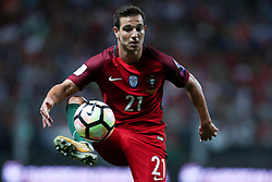 August 31, 2017 - Porto, Porto, Portugal - Portugal's defender Cedric in action during the FIFA World Cup Russia 2018 qualifier match between Portugal and Faroe Islands at Bessa Sec XXI Stadium on August 31, 2017 in Porto, Portugal. (Credit Image: © Dpi/NurPhoto via ZUMA Press)