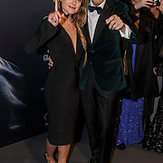 NLD/Amsterdam/20150211 - Premiere Fifty Shades of Grey, Lauren Verster en partner Jort Kelder