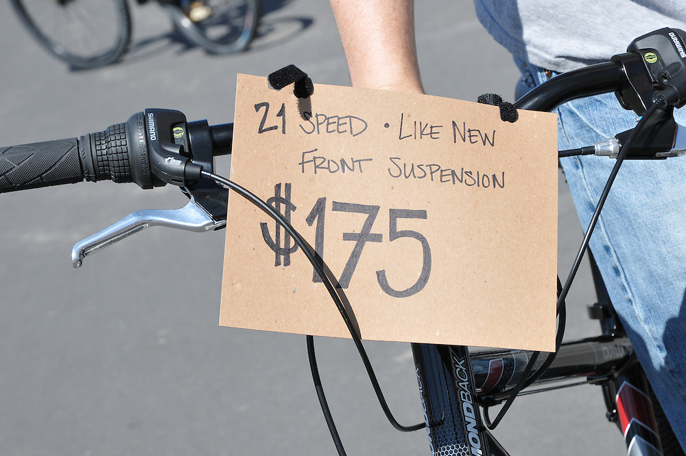 Used Bicycle For Sale - Spring 2012 Bicycle Swap Meet - Tucson, Arizona. Bike-tography by Martha Retallick.