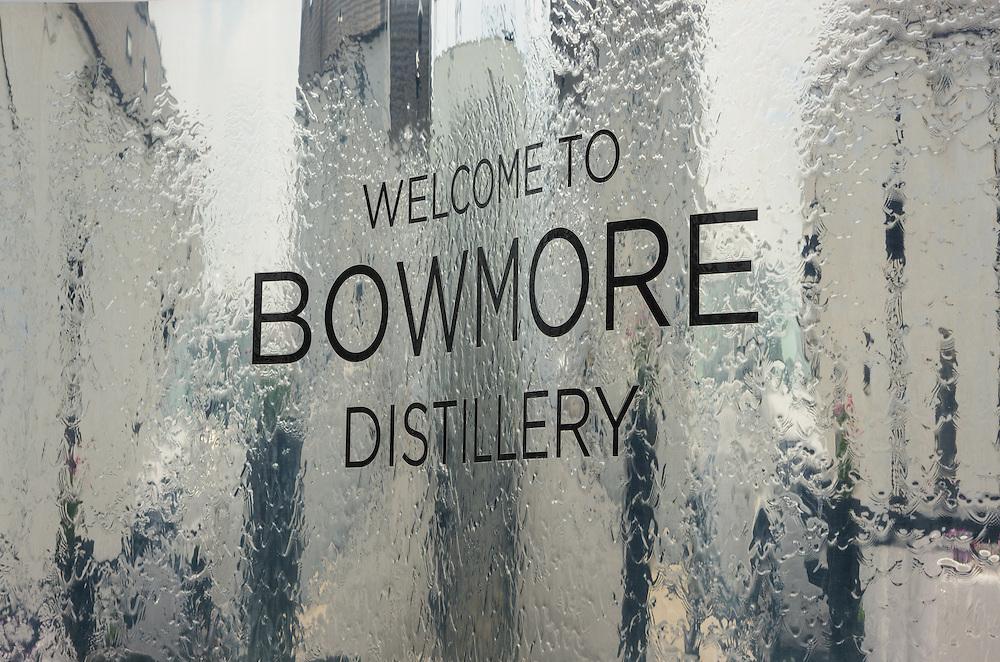 Detail in Bowmore distillery, Islay, Scotland