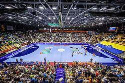 14-04-2019 SLO: Qualification EHF Euro Slovenia - Netherlands, Celje<br /> Arena during handball match between National teams of Slovenia and Netherlands in Qualifications of 2020 Men's EHF EURO