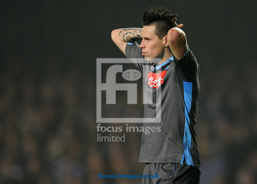 Picture by Andrew Timms/Focus Images Ltd. 07917 236526.14/03/12.Marek Hamsik of Napoli during the UEFA Champions League 2nd leg of the last 16 match against Chelsea at Stamford Bridge stadium, London.