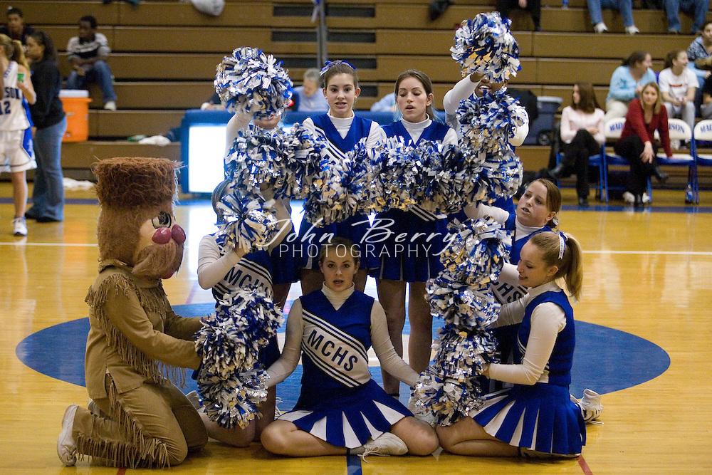 MCHS Varsity Girls Basketball  .vs Strasburg     .January 11, 2007