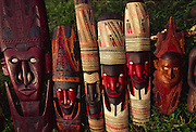 Papua New Guinea, Madang, carving<br />