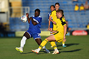 Ronaldo Vieira (25) of Leeds United during the Pre-Season Friendly match between Oxford United and Leeds United at the Kassam Stadium, Oxford, England on 24 July 2018. Picture by Graham Hunt.