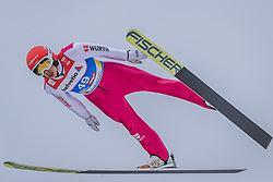 22.02.2019, Bergiselschanze, Innsbruck, AUT, FIS Weltmeisterschaften Ski Nordisch, Seefeld 2019, Nordische Kombination, Skisprung, im Bild Eric Frenzel (GER) // Eric Frenzel of Germany during the Ski Jumping competition for Nordic Combined of FIS Nordic Ski World Championships 2019. Bergiselschanze in Innsbruck, Austria on 2019/02/22. EXPA Pictures © 2019, PhotoCredit: EXPA/ Dominik Angerer