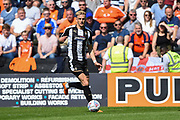 Notts County defender Daniel Jones (23) during the EFL Sky Bet League 2 match between Notts County and Luton Town at Meadow Lane, Nottingham, England on 5 May 2018. Picture by Jon Hobley.