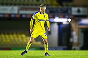 AFC Wimbledon defender Jack Madelin (31) during the EFL Trophy match between Southend United and AFC Wimbledon at Roots Hall, Southend, England on 13 November 2019.