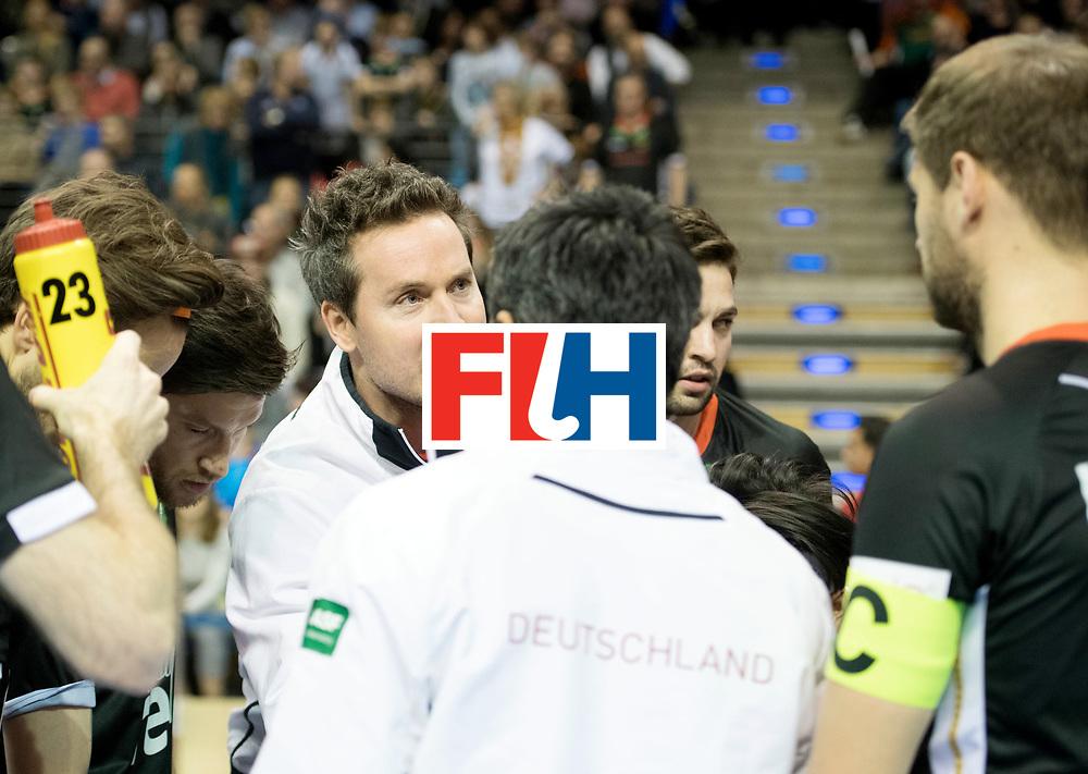 BERLIN - Indoor Hockey World Cup<br /> SF1 Germany - Iran<br /> foto: KERMAS Stefan<br /> WORLDSPORTPICS COPYRIGHT FRANK UIJLENBROEK