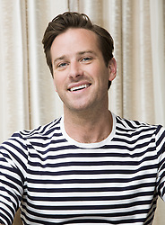 June 12, 2017 - Hollywood, California, U.S. - ARMIE HAMMER the voice of Jackson Storm promotes 'Cars 3.'(Credit Image: © Armando Gallo via ZUMA Studio)