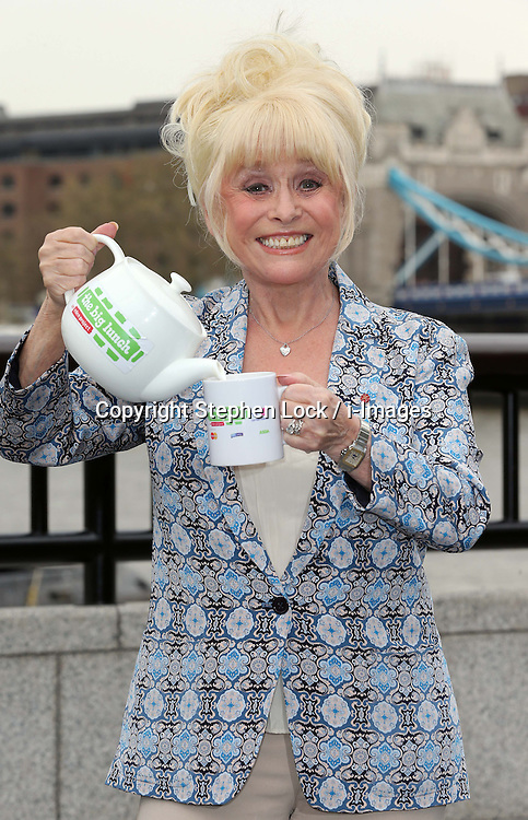 Actress Barbara Windsor at the launch of the Big Lunch, held in London, Tuesday, 7th May 2013.  Photo by: Stephen Lock / i-Images