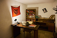 Albanie, Tirana, Bunk'Art, musée de la periode communiste // Albania, Tirana, Bunk'Art, the communism period museum