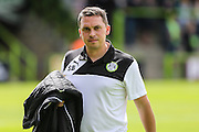 Forest Green Rovers academy manager, Scott Bartlett during the Pre-Season Friendly match between Forest Green Rovers and Birmingham City at the New Lawn, Forest Green, United Kingdom on 16 July 2016. Photo by Shane Healey.