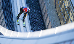 31.12.2017, Olympiaschanze, Garmisch Partenkirchen, GER, FIS Weltcup Ski Sprung, Vierschanzentournee, Garmisch Partenkirchen, Training, im Bild Markus Eisenbichler (GER) // Markus Eisenbichler of Germany during his Practice Jump for the Four Hills Tournament of FIS Ski Jumping World Cup at the Olympiaschanze in Garmisch Partenkirchen, Germany on 2017/12/31. EXPA Pictures © 2017, PhotoCredit: EXPA/ Jakob Gruber