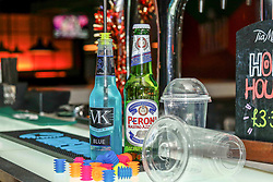 Pictured: Products designed with the specific aim of keeping you drink free from being spike.<br /> <br /> Colin Poultney   EEm Thursday 6th December 2018