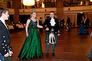 LADY DALMENY; LORD DALMENY The Royal Caledonian Ball 2010. Grosvenor House. Park Lane. London. 30 April 2010 *** Local Caption *** -DO NOT ARCHIVE-© Copyright Photograph by Dafydd Jones. 248 Clapham Rd. London SW9 0PZ. Tel 0207 820 0771. www.dafjones.com.<br /> LADY DALMENY; LORD DALMENY The Royal Caledonian Ball 2010. Grosvenor House. Park Lane. London. 30 April 2010