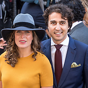 NLD/Den Haag/20170919 - Prinsjesdag 2017, Jesse Klaver en partner Jolein van Swaal